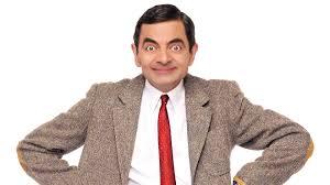 Mr Bean says HI